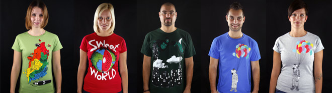 Nová trička SELF