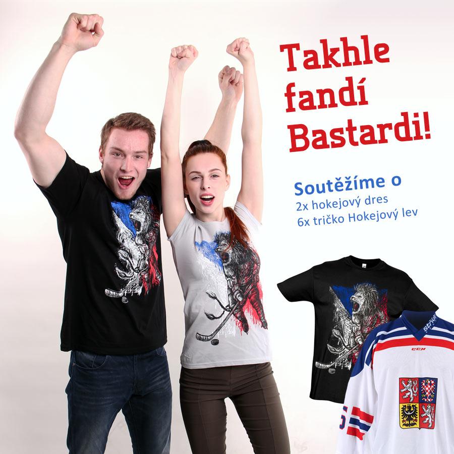 Soutěž o hokejové dresy a trička