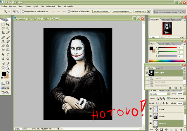 Tutorial - prce v Photoshopu
