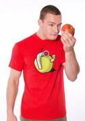 náhled - Granátové jablko červené pánské tričko