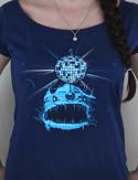 náhled - Mořský discoďas dámské tričko
