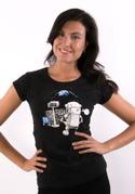 náhled - Kosmonaut dámské tričko
