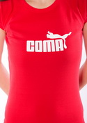 náhled - Coma červené dámské tričko