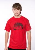 náhled - Zebrovaná láska pánské tričko