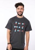 náhled - Puzzlesútra šedé pánské tričko