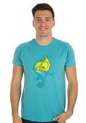 náhled - Zmizík modré pánské tričko