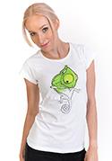 náhled - Zmizík bílé dámské tričko