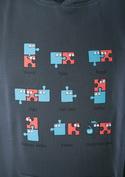 náhled - Puzzlesútra pánská mikina