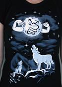 náhled - Vlčí árie dámské tričko