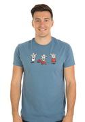 náhled - Koloběh vlny pánské tričko