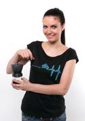 náhled - Coffee help dámské tričko lodičkové