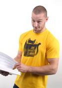 náhled - Povinná četba žluté pánské tričko