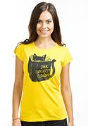 náhled - Povinná četba žluté dámské tričko