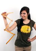 náhled - Včelí univerzita dámské tričko