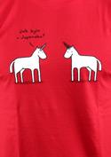 náhled - Pornorožec červené pánské tričko