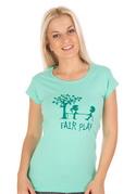 náhled - Fair play zelené dámské tričko