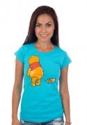 náhled - Ups modré dámské tričko