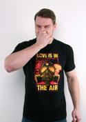 náhled - Love is in the Air pánské tričko