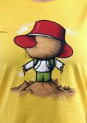 náhled - Na pískovišti dámské tričko