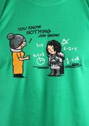náhled - You Know Nothing pánské tričko