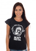 náhled - Heavy Metal dámské tričko