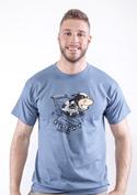 náhled - Teleshopping modré pánské tričko