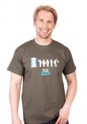 náhled - Toi Story zelené pánské tričko