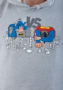náhled - Souboj superhrdinů pánská mikina