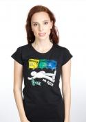 náhled - Tříděný odpad dámské tričko
