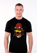 náhled - Pokémon burger černé pánské tričko