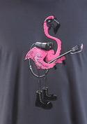 náhled - Plamenomeťák šedé pánské tričko