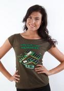 náhled - Uchováno v paměti dámské tričko