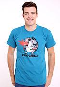 náhled - Chinchilli modré pánské tričko