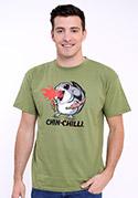 náhled - Chinchilli zelené pánské tričko