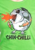 náhled - Chinchilli zelené dámské tričko