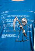 náhled - Modrá smrt dámské tričko