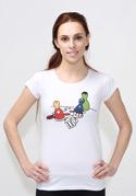 náhled - Superhrdino nezlob se dámské tričko