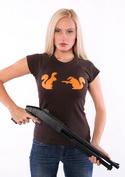 náhled - Veverky hnědé dámské tričko
