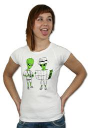 náhled - Mimozemšťané dámské tričko