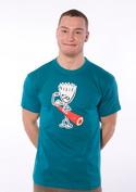 náhled - Svaly modré pánské tričko