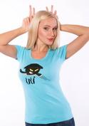 náhled - Čičina modré dámské tričko