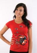 náhled - Ladybird Factory červené dámské