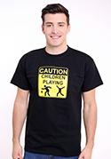 náhled - Children playing pánské tričko