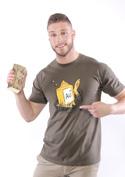 náhled - Zlatá rybka pánské tričko