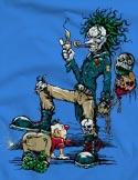 náhled - Evil Clown pánská mikina