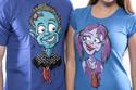 náhled - Láska až za hrob modré pánské tričko