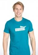 náhled - Coma zelenomodré pánské tričko