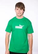 náhled - Coma zelené pánské tričko