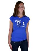 náhled - Fair play modré dámské tričko