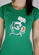 náhled - Vegetarián dámské tričko